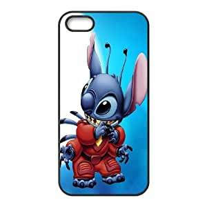 High Quality Phone Back Case Pattern Design 3Lilo & Stitch Design- For Apple Iphone 5 5S Cases