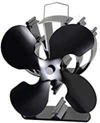 VODA 4-Blade Heat Powered Stove Fan for ...