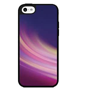 Colorful Pink and Blue Swirl Hard Snap on Phone Case (iPhone 5c)
