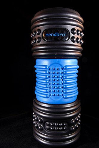 RPM - 4-speed vibrating foam massage roller. Deep reaching and targeted massager, created for the active person. Compact for travel, 3 hours of premium battery life and quiet motor. by MendBro, Inc. (Image #1)