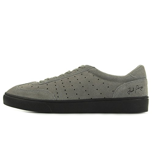 Fred Perry Umpire Suede Falcon Grey B9067C53, Turnschuhe
