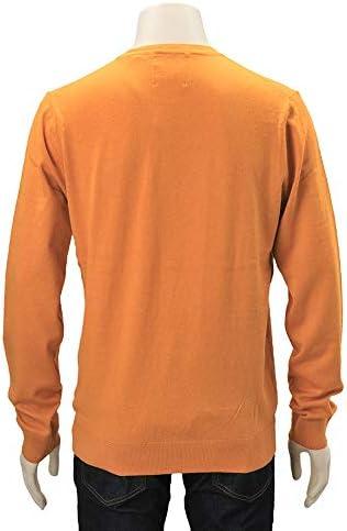 (スコッチアンドソーダ)SCOTCH&SODA トップス 長袖ニットソー メンズ ハイゲージニット オレンジ 正規取扱店