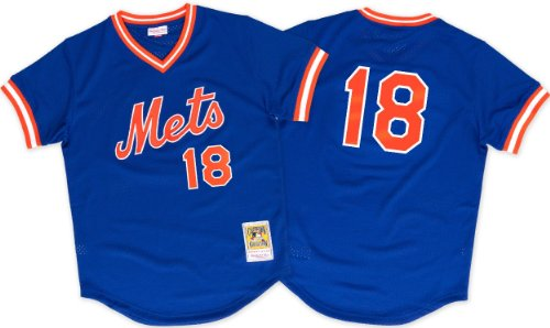 New York Mets Darryl Strawberry 1986 Replica Jersey Shirt XL