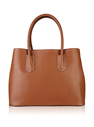 Made in Italia Bags, Borsetta da polso donna Cammello