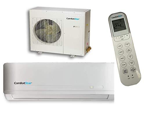 ComfortStar Mini Split Single Zone Heat Pump 25 SEER 24,000 BTU  CFS Series  Heating & Cooling  CFS-CXH24CDI/24CDO
