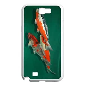 SYYCH Phone case Of Beautiful Carp Cover Case For Samsung Galaxy Note 2 N7100