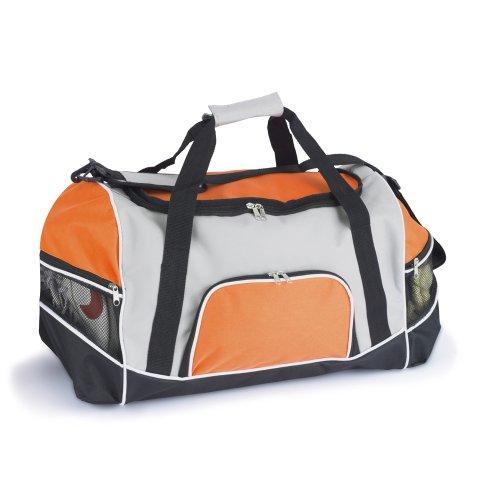 Sport Und Fitness Allzweck Tasche Mit Schulterriemen - Verfügbar In 4 Farben - Large, Orange