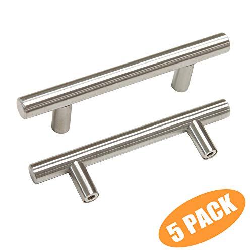 (Probrico T Bar Cabinet Pulls Stainless Steel Kitchen Handles Bathroom Cupboard Knobs 3