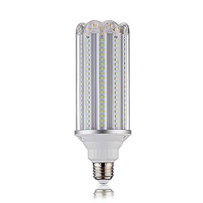 (Pack of 1) 28w LED Corn Light Bulb for Ourdoor Large Area-E26/E40/E39 Mogul Base 3080 lumens Replace PS25 incandescent bulb 300Watt CFL=50Watt,5000k daylight White High Bay Warehouse Street Lamp ,