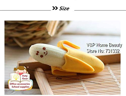 30 pcs/Lot Banana Erasers rubber for pencil funny cute stationery Novelty eraser Office accessories supplies by PomPomHome (Image #3)
