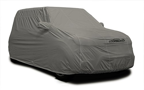 Coverking Auto Body Armor - Coverking Custom Fit Car Cover for Select Porsche Panamera Models - Autobody Armor (Gray)