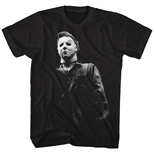 American Classics Halloween Mike Meyers Horror Movie Mask Costume Spooky Boo Adult T-Shirt -