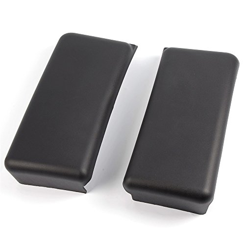 Pair Rh & Lh For Ford F150 Front Bumper Guards Inserts Pads Caps Black 09-14