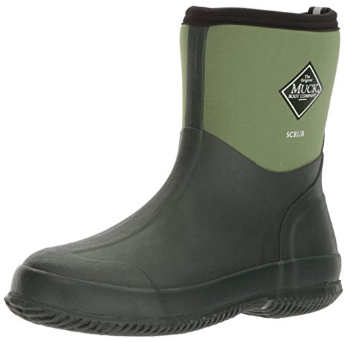 The Original MuckBoots Adult Scrub Boot,Garden Green,6 M US Mens/7 M US Womens