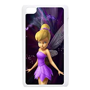 ipod touch 4 phone cases White Tinkerbell cell phone cases Beautiful gifts YWTS0422382