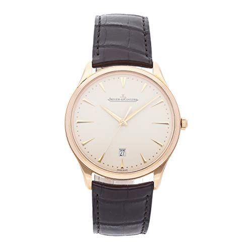 (Jaeger-LeCoultre Master Mechanical (Automatic) Ivory Dial Mens Watch Q1282510 (Certified Pre-Owned))