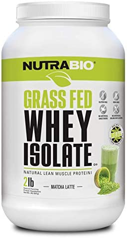 NutraBio Grass Isolate Matcha Pounds