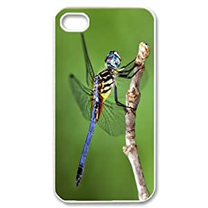 Beautiful Dragonfly Personalized Durable Hard Plastic Case Cover LUQ265546 For Iphone 4,4S