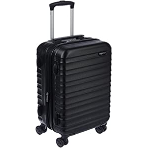 AmazonBasics Hardside Carry On Spinner Suitcase – 20 Inch