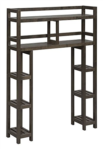 Dunnsville 2-Tier Space Saver with Side Storage by New Ridge
