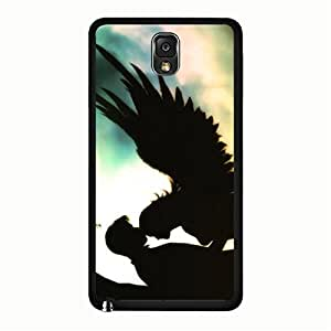 Samsung Galaxy Note 3 N9005 Shell,Simple Glossy Angel Image Pattern Mobile Phone Case for Samsung Galaxy Note 3 N9005