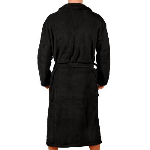 Wanted Men's Micro Fleece Bathrobe
