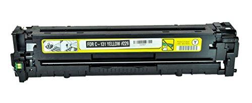 SPEEDY TONER Canon 131 Remanufactured Yellow Laser Toner ...