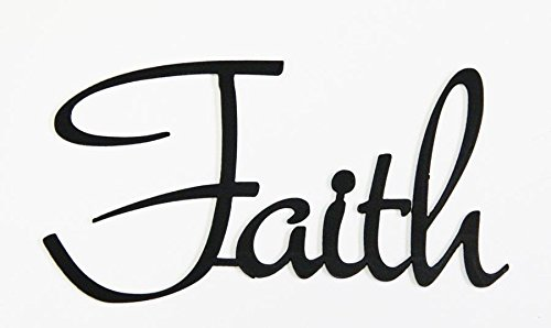 FAITH - Wall Word Art Hand Crafted By Amish by Hand Crafted & American Made!