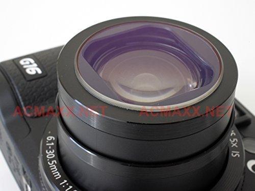 ACMAXX Multi-Coated LENS ARMOR UV FILTER for Canon Powershot G5X Camera ()