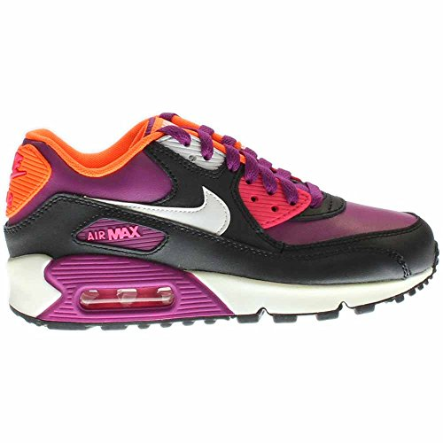 info for 3e0c1 2c64e Galleon - Nike Kids Air Max 90 2007 (GS) Bold Berry White Pink Pow Blk  Running Shoe 5.5 Kids US