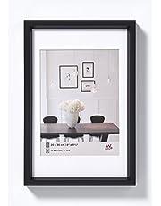 walther design ES070B Steel Style kunststof lijst 50x70 cm, zwart