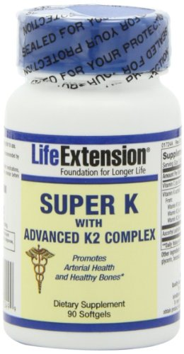 Life Extension Super K with Advanced K2 Complex Softgels, 270-Count Pack (1yp9ui) Life-r1 by Life Extension