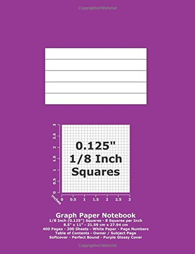 used book buyback graph paper notebook 0 125 inch 1 8 squares