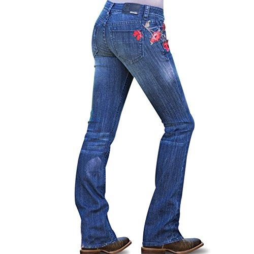 Price comparison product image Grace In LA Poppy Prairie Slim Jean