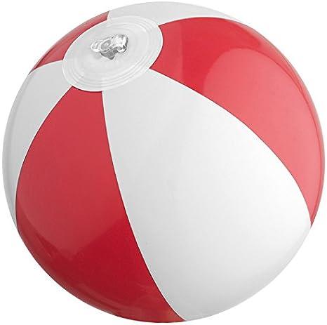 Mini pelota de playa/agua Ball/Color: Rojo de color blanco: Amazon ...