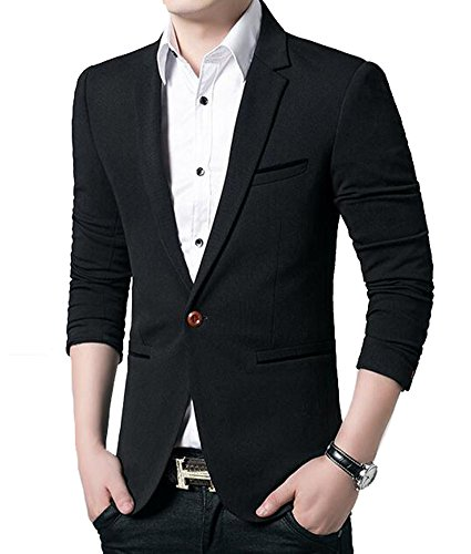 fb2e1abe34d Benibos Men s Slim Fit Casual Premium Blazer Jacket - Import It All