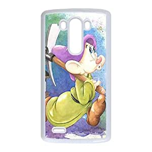 Disney Snow White And The Seven Dwarfs Character Dopey LG G3 Cell Phone Case White DIY Ornaments xxy002-3633489