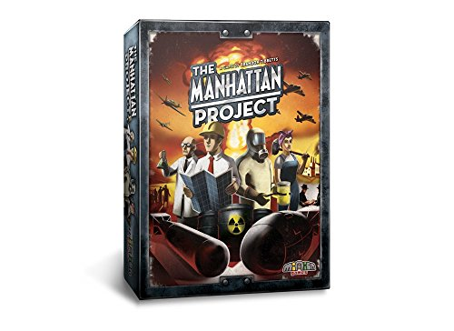 Minion Games The Manhattan Project Board Game