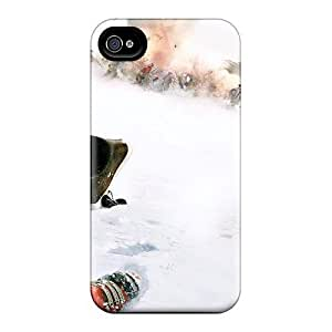 Unique Design Iphone 4/4s Durable Tpu Case Cover A Beautiful Butterfly by mcsharks