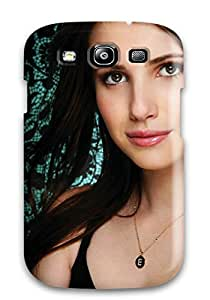 Hot 7836265K53431714 Unique Design Galaxy S3 Durable Tpu Case Cover Emma Roberts Wide High Quality