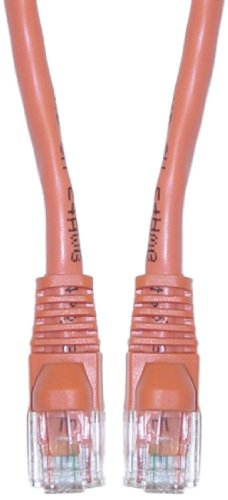 C&E Cat6 1-Foot Snagless/Molded Boot Ethernet Patch Cable...