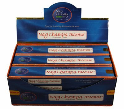Nag Champa Gold Incense 15 Sticks - 12 Boxes (180 Total)