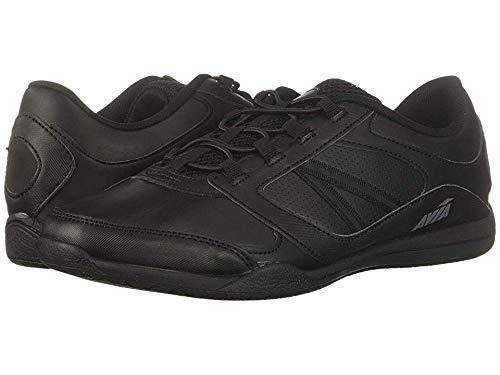 - Avia Women's Avi-Focus Food Service Shoe, Black/Metallic Iron Grey/Chrome Silver, 9 Medium US