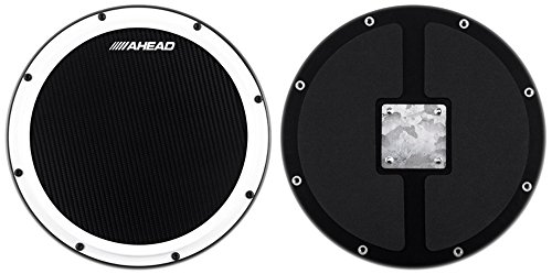 Ahead S-Hoop Marching Pad with Snare Sound - 14'' by Ahead