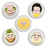 Fred and Friends Mr Food Face Plate