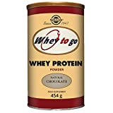 Cheap Solgar – Whey To Go  Protein Powder* Natural Chocolate Flavor 16 oz