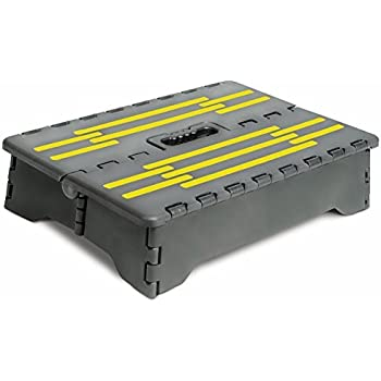 Amazon Com Portable Folding Riser Step With Safety
