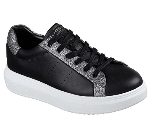 Skechers High Street - Glitter Highway Black/Silver 41