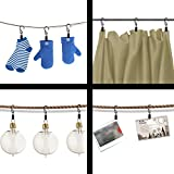Coideal 40 Pack Lighted Photo Clips String Lights