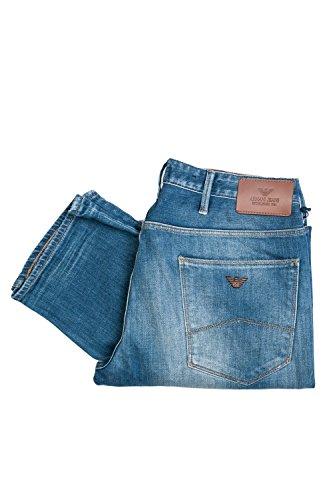 Emporio Armani Herren Jeanshose * One Size Gr. 44, blau